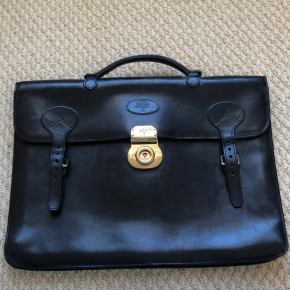 77f4f6f443 Authentic Vintage Mulberry Briefcase. M 5c0fee0cd6dc522980777e26